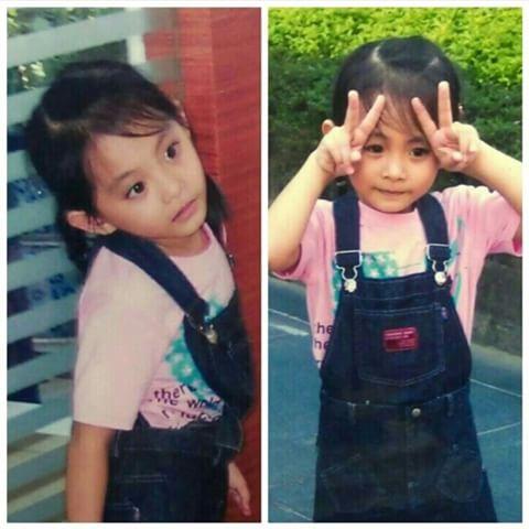 ツウィの幼少期の写真