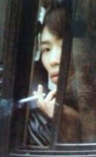 有岡大貴の喫煙画像